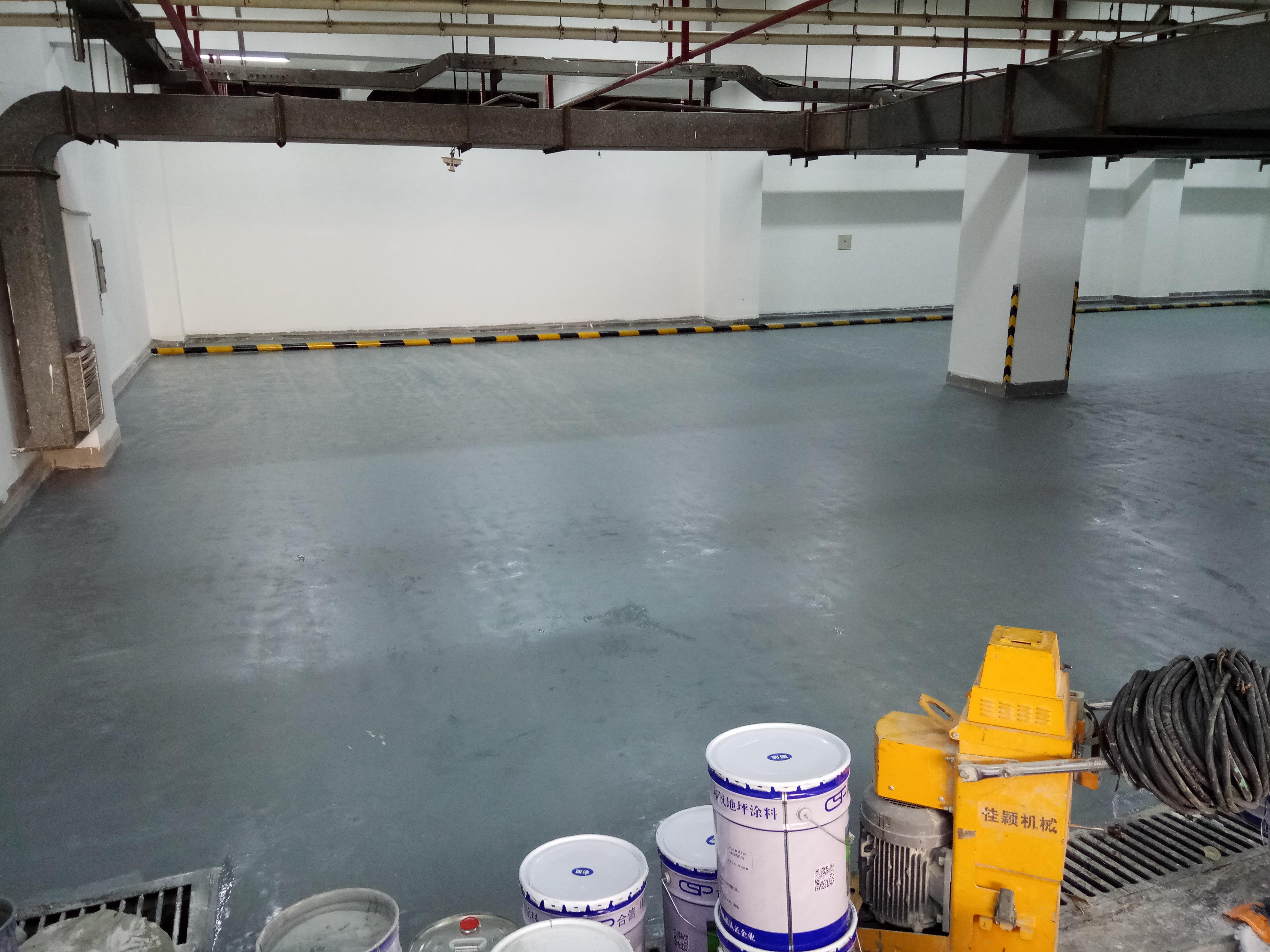 地下停车场(环氧树脂地面0